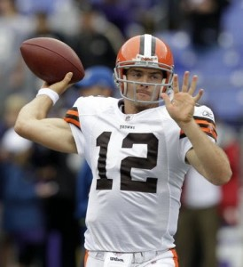 Cleveland Browns aren't sold on Colt McCoy