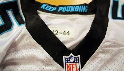 Panthers Nike jersey pays tribute to Sam Mills