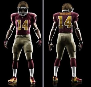 Redskins 80th anniversary uniforms