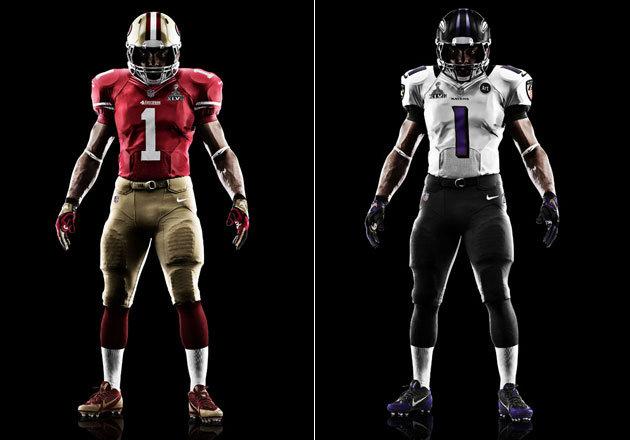 Nfl New Uniforms 2013 49ers Ravens - 49ers Nike Su...