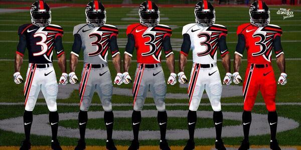 Check out these futuristic Falcons uniforms (Photo) - Pro ...