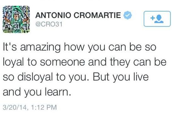 Cromartie-Tweets